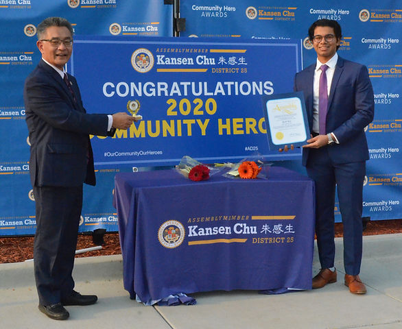 2020 Community Heroes Award