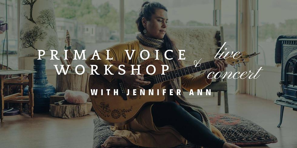 Primal Voice workshop, Cacao + Concert