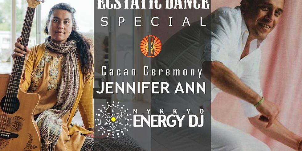 Ecstatic Dance Special: Jennifer Ann (Live) + Nykkyo Energy DJ