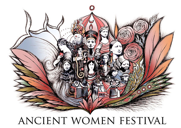 Ancient Women Artwork 2 with text - 72dp