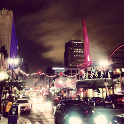 Pine Avenue, downtown Long Beach