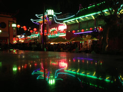 Central Plaza at Night