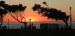 Fall sunset in Redondo Beach