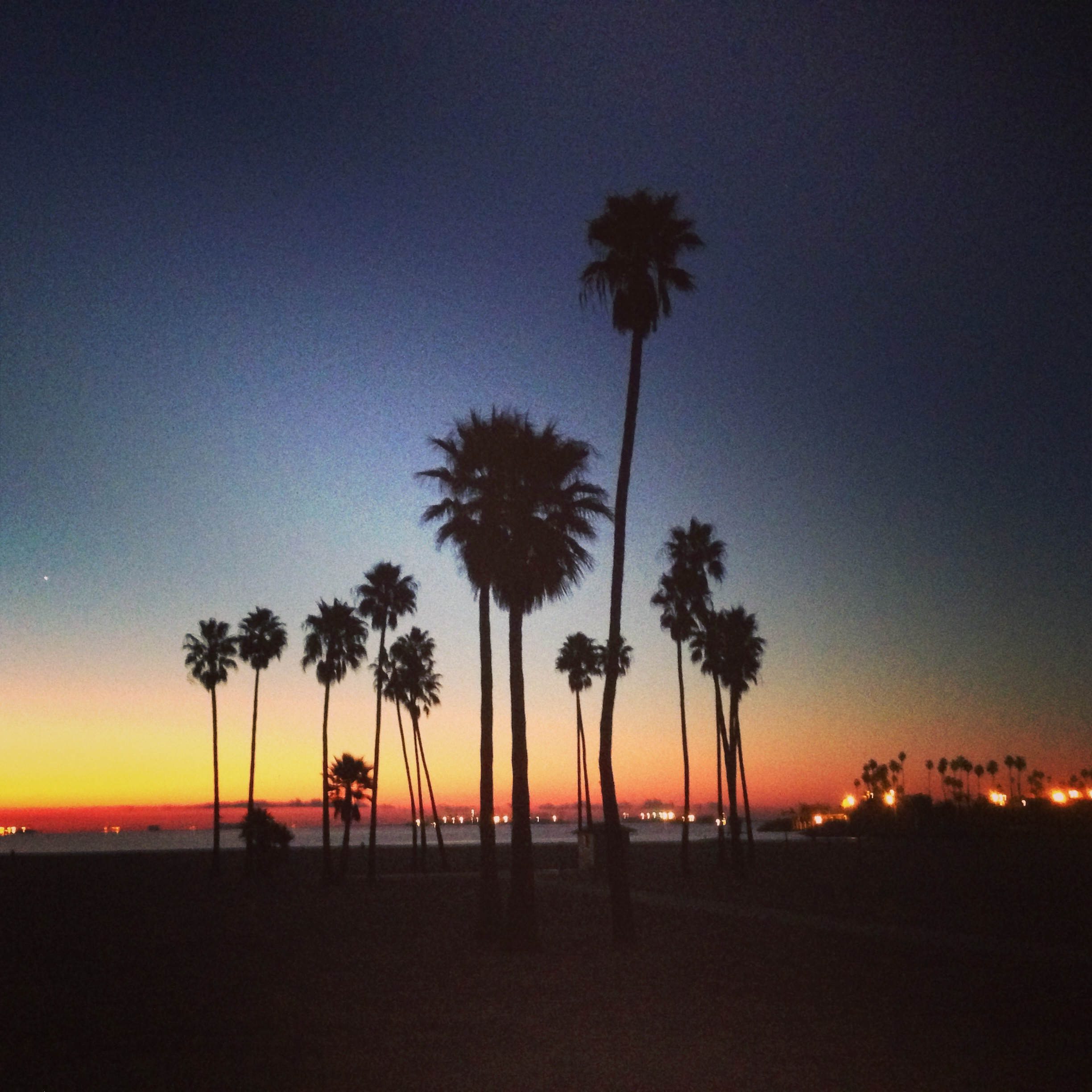 Alamitos Beach sunrise