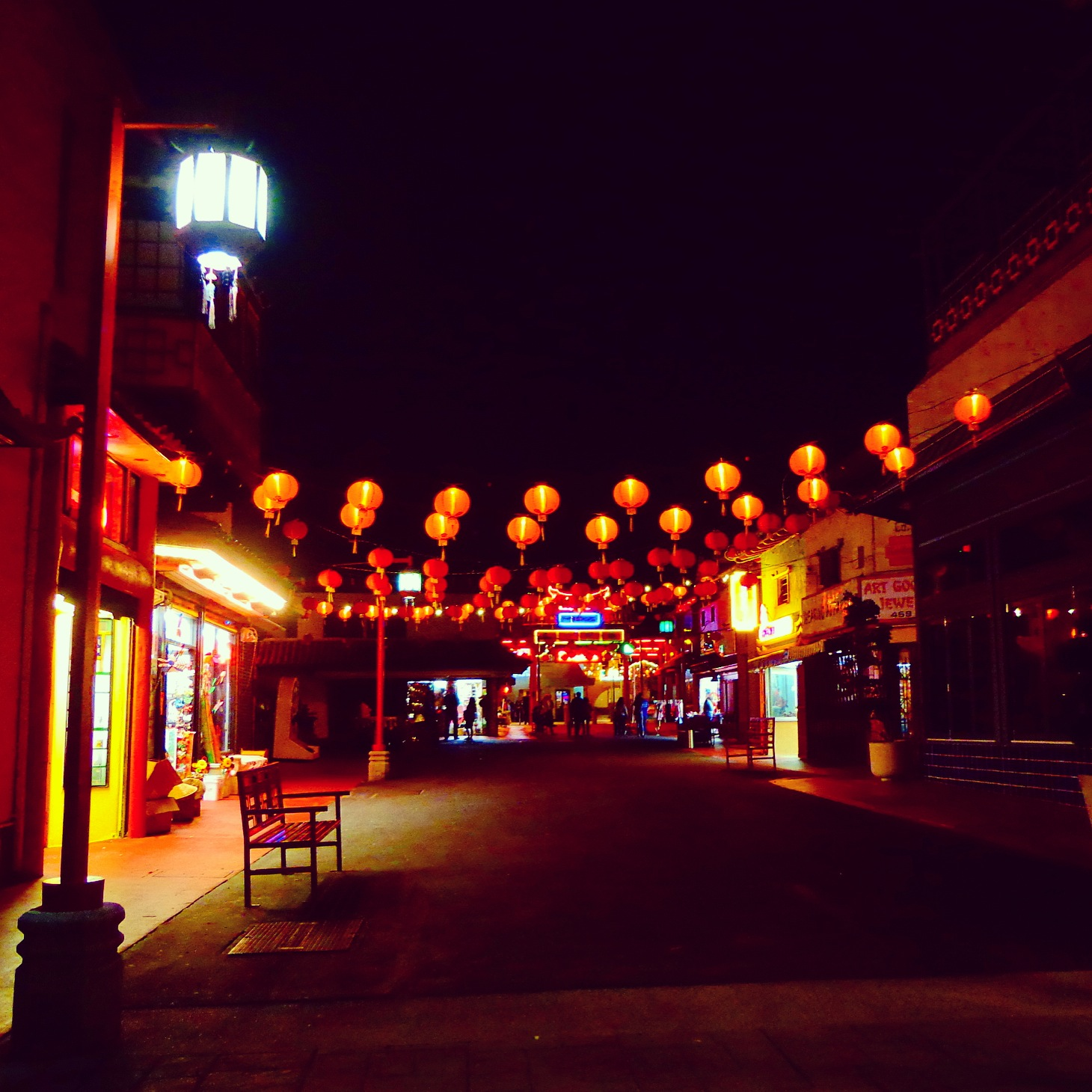 Quiet Chinatown night