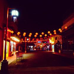 Quiet Chinatown night