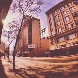 Broadway Avenue, downtown LA