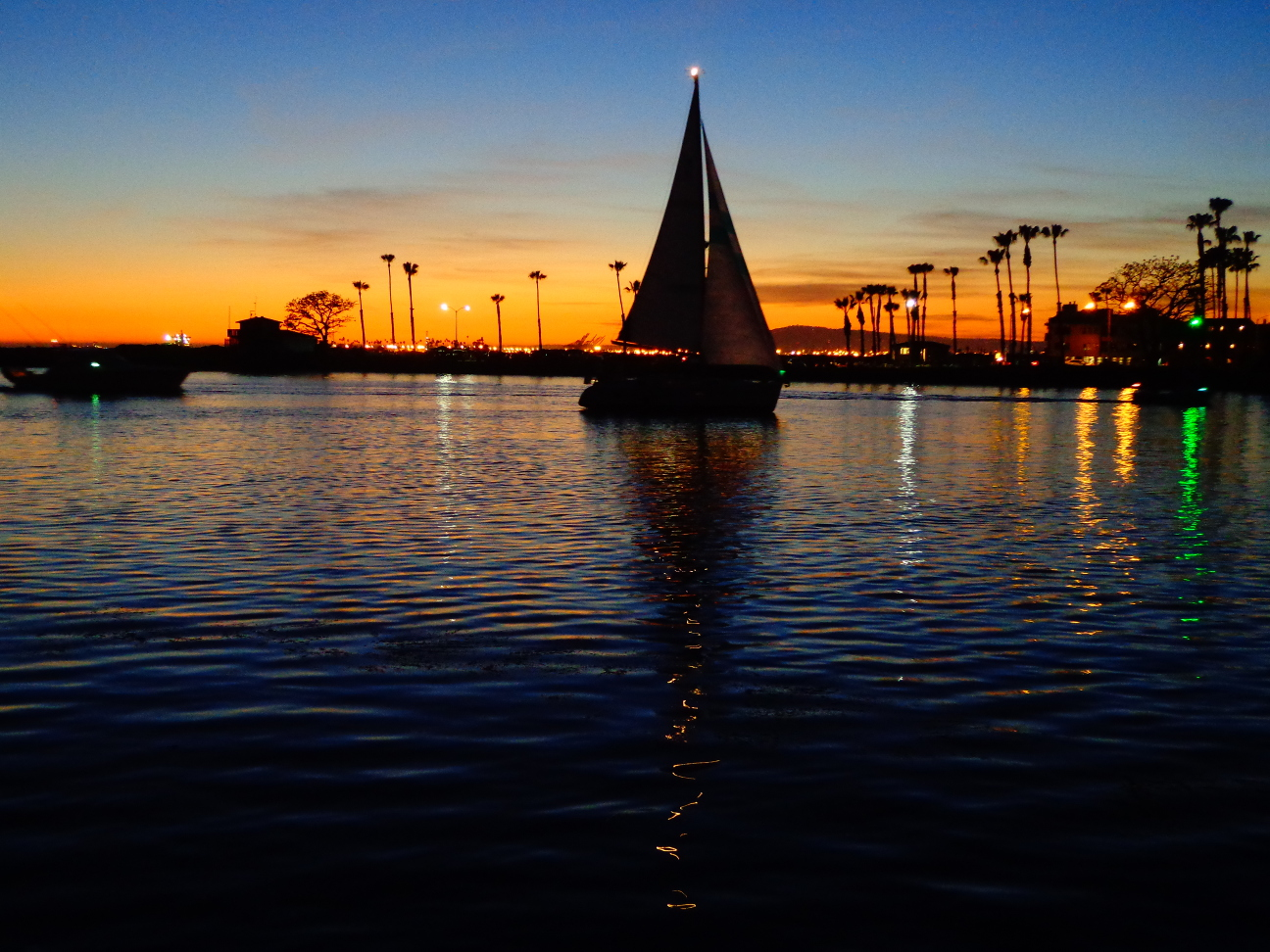 Sailing home - Alamitos Bay