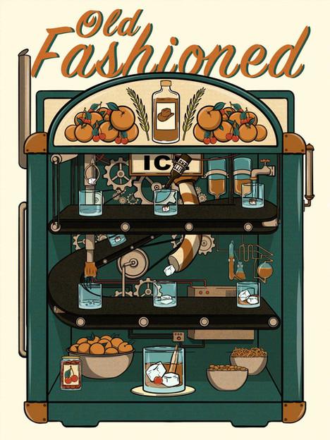 Old Fashioned Machine