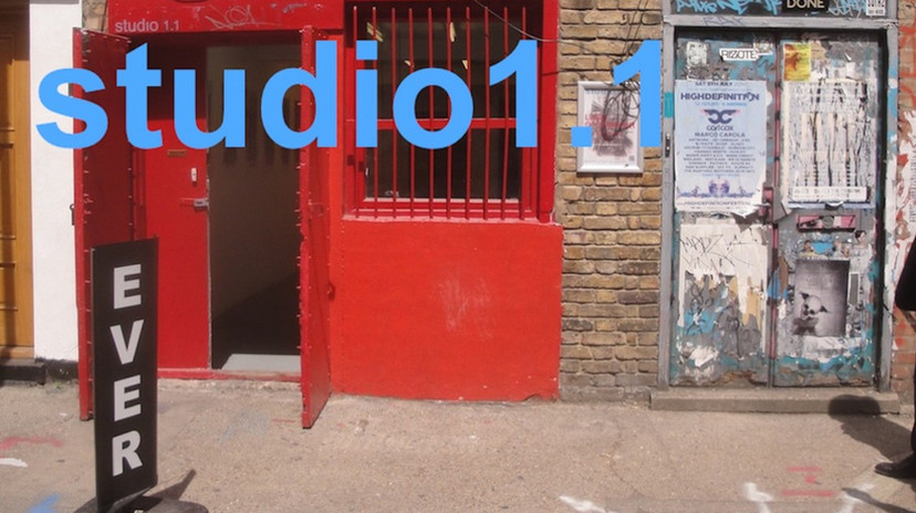 Solo exhibition at Studio 1.1, London