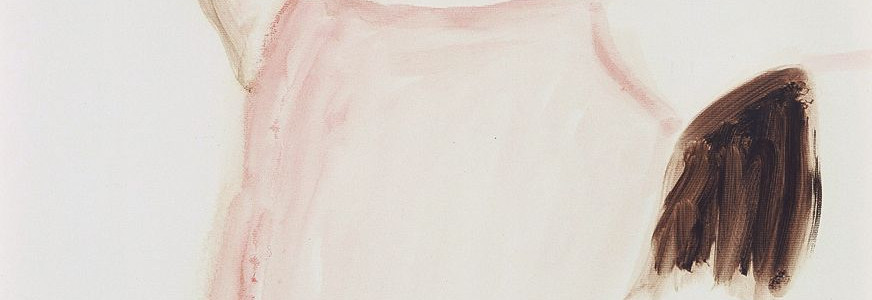Brooke Shields with Raised Arms (detail)