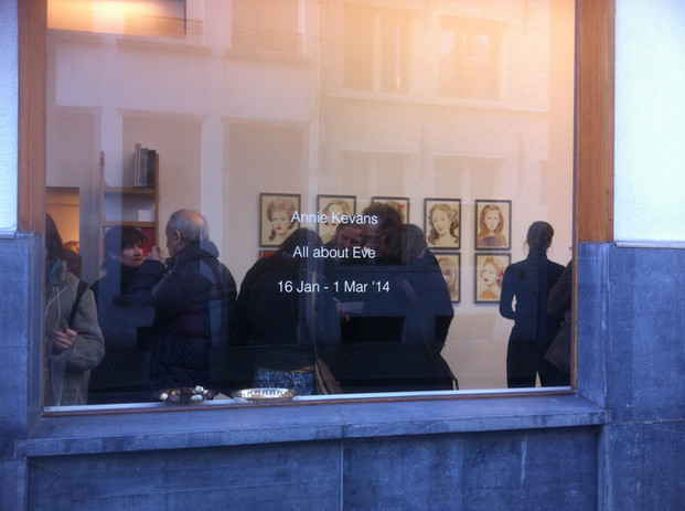 Solo exhibition at Gallery 51, Antwerp
