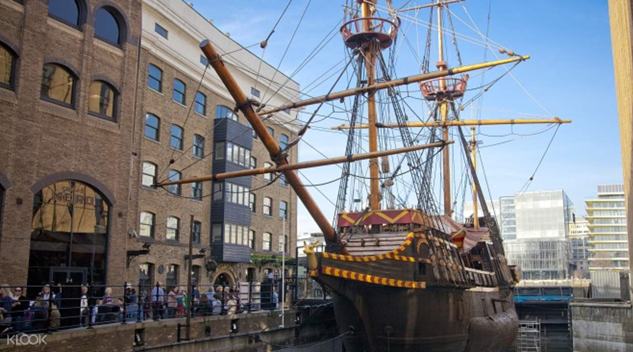 Solo exhibition private view aboard the Golden Hinde