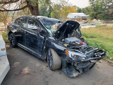 2019 Subaru WRX STI sedan 2.5L M/T Black