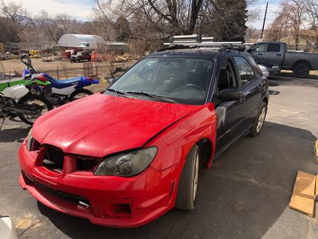 2006 Subaru Impreza Wagon 2.5L 152k M/T Blue/red