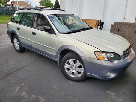 2005 Subaru Outback wagon 2.5l 141k A/T Gold/Gray