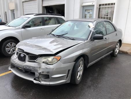 2006 Subaru Impreza sedan 2.5L 188k A/T Gray