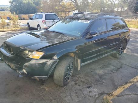 2005 Subaru Outback XT 2.5L 109k M/T 5speed Black