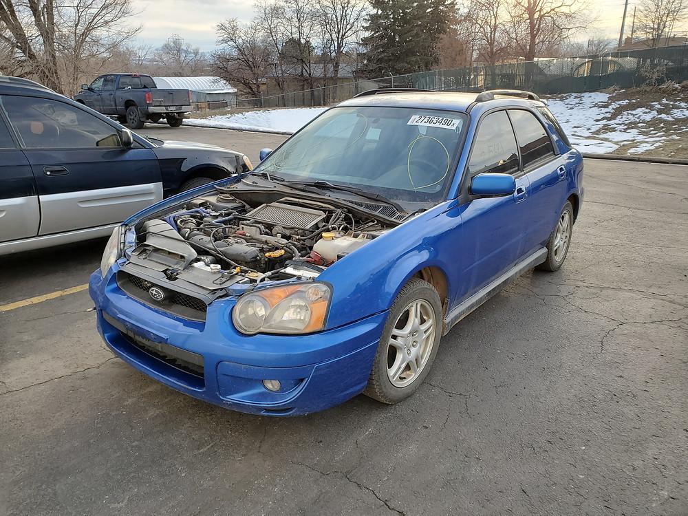 2004 subaru wrx wagon 215k blue m t 5 speed 2004 subaru wrx wagon 215k blue m t 5 speed
