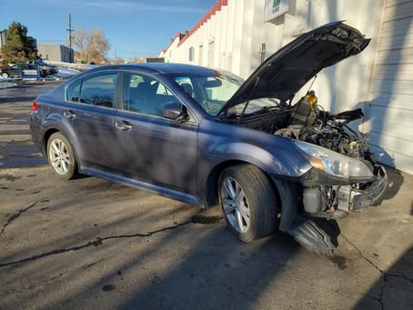 2014 Subaru Legacy 2.5L Gray 118k CVT transmission