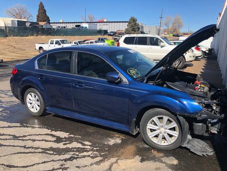 2011 Subaru Legacy 2.5L Blue 110k CVT transmission