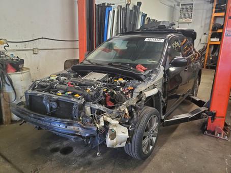 2009 Subaru Impreza WRX 2.5L 143k M/T Black