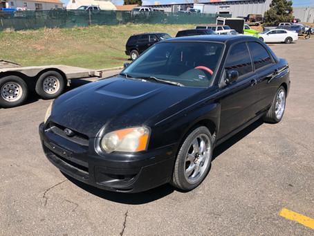 2004 Subaru Impreza RS sedan 2.5L 143k M/T Java Black