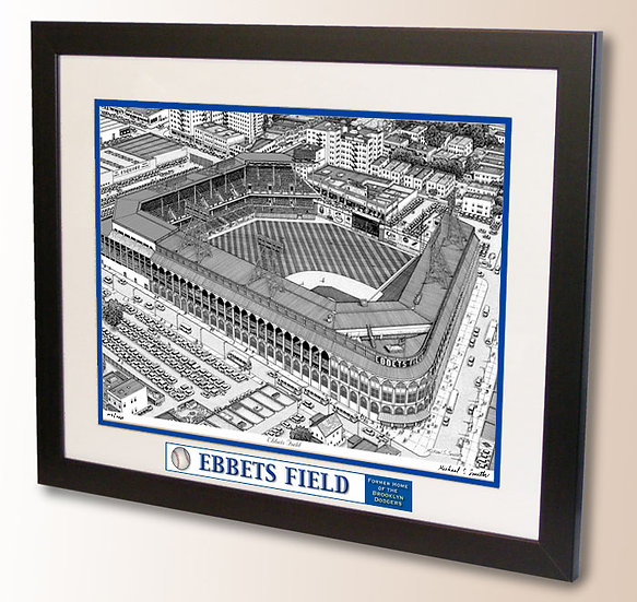 Ebbets Field wall art