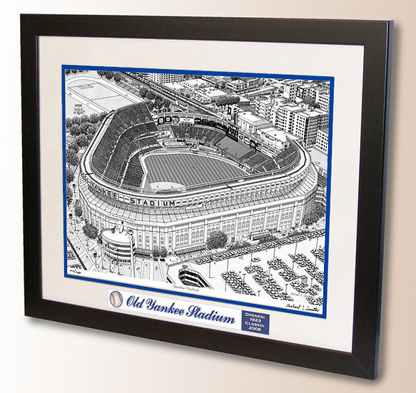 Old Yankee Stadium wall art