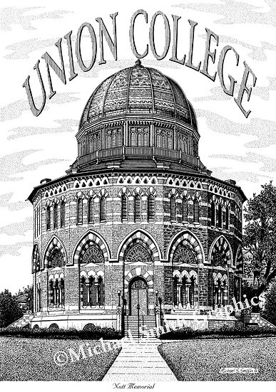 Union College Nott Memorial art print by Michael Smith