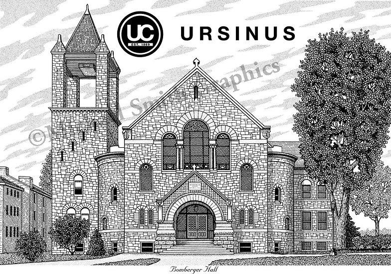 UrsinusCollege art print by Michael Smith