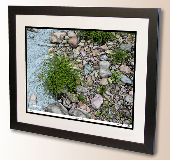 Bunch of Rocks art print by Michael Smith