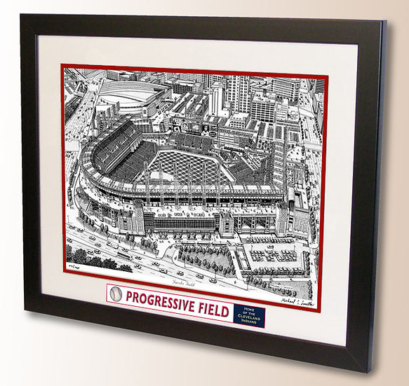 Progressive Field wall art