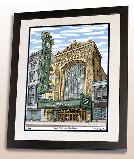 Sheas Buffalo Theater art print by Michael Smith