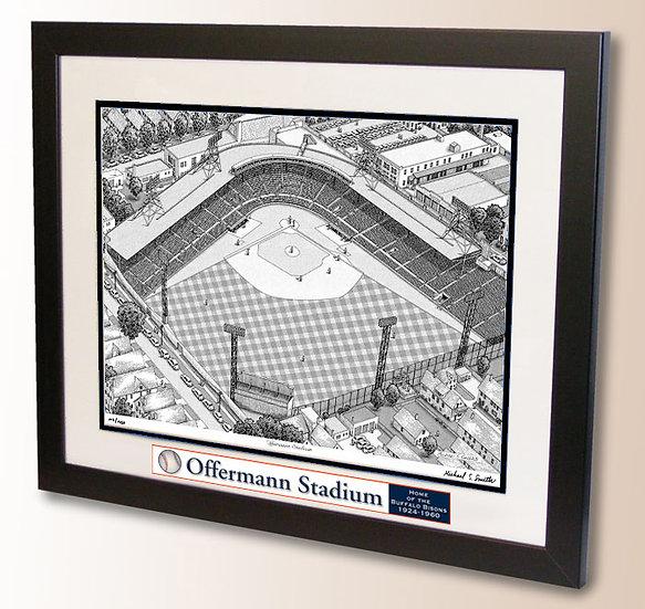 Offermann Stadium wall art