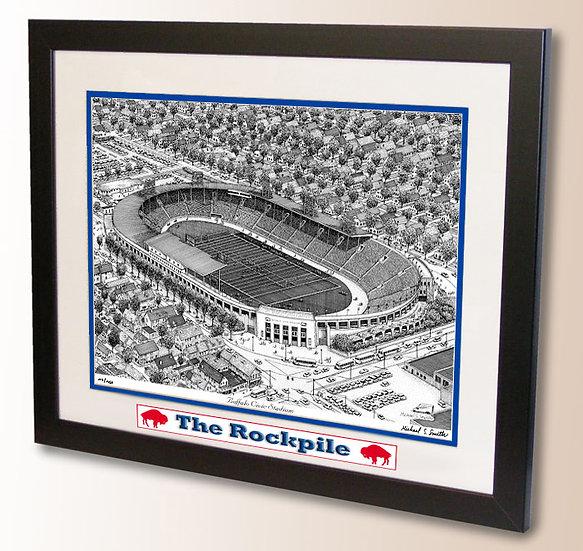 Civic Stadium, The Rockpile wall art