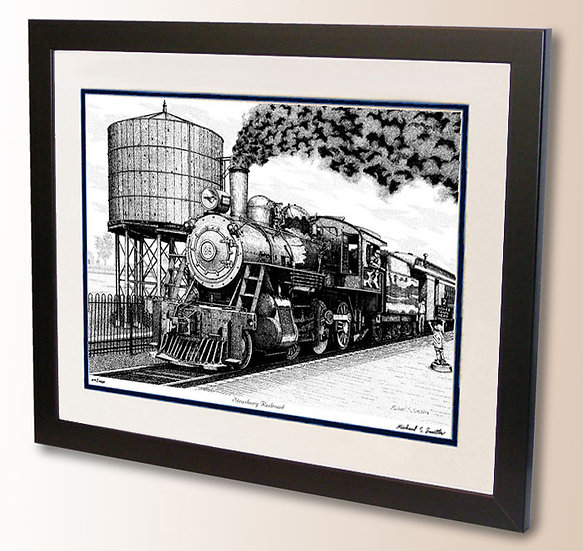 Strasburg Railroad art print by Michael Smith