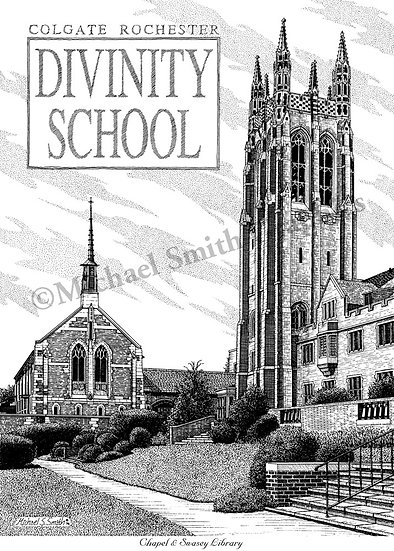 Colgate-Divinity School art print by Michael Smith
