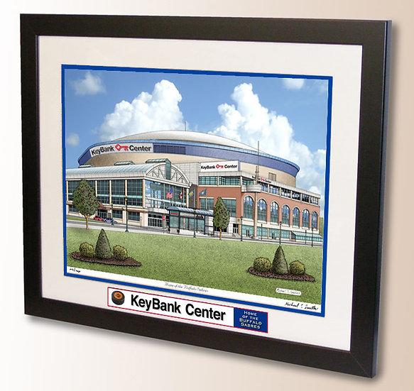 KeyBank Center wall art
