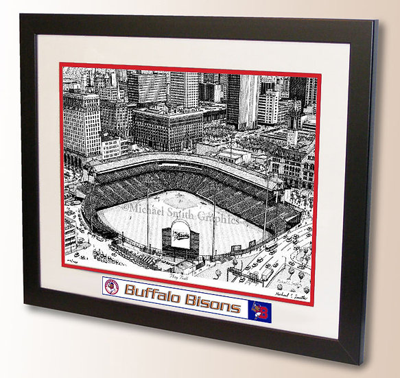Sahlen Field wall art