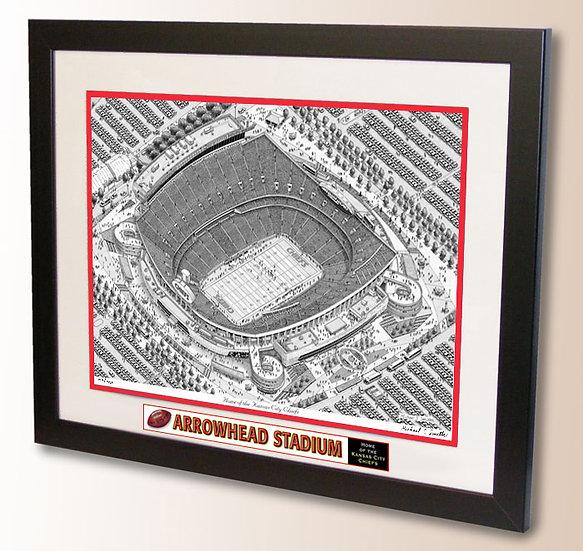 Arrowhead Stadium wall art