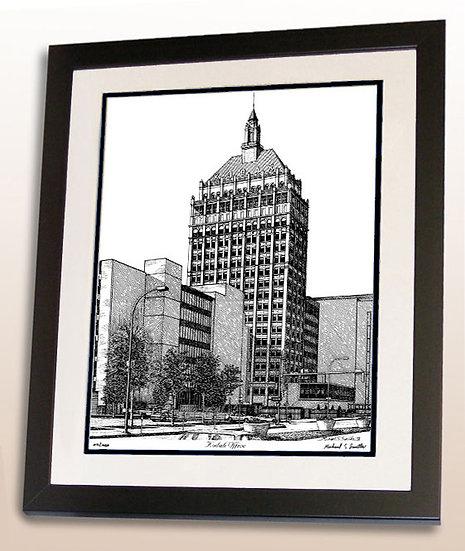 Kodak Office - Rochester NY art print by Michael Smith