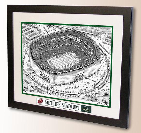 MetLife Stadium wall art
