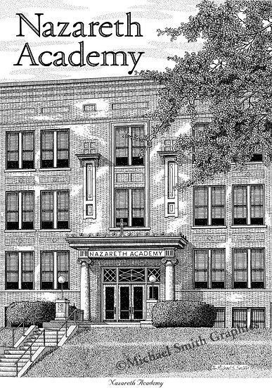 Nazareth Academy art print by Michael Smith