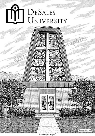 DeSales University art print by Michael Smith