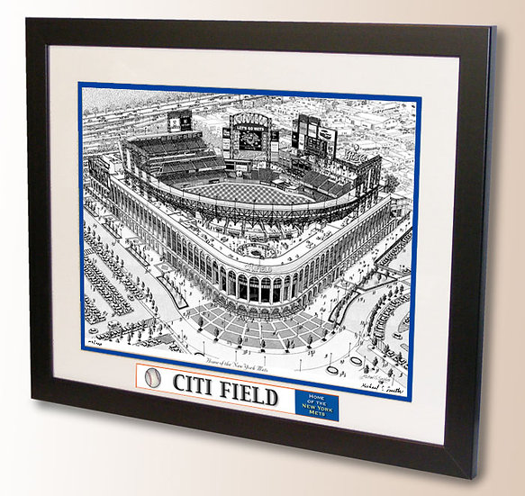 Citi Field wall art