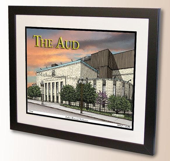 Memorial Auditorium - The Aud wall art