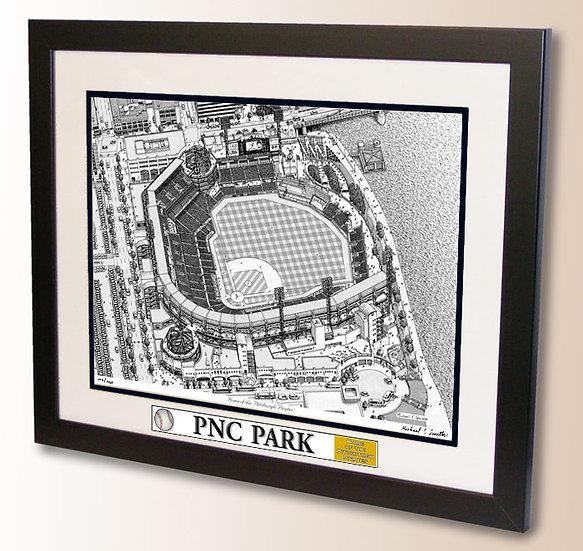 PNC Park wall art