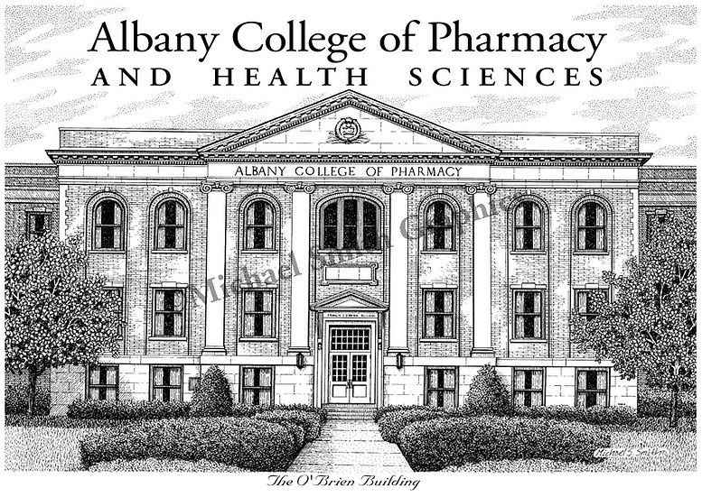 Albany College of Pharmacy and Health Science art print