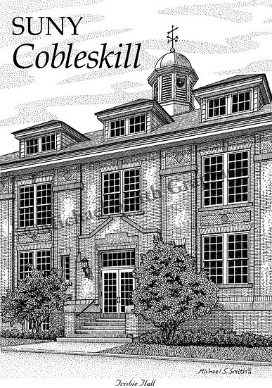 SUNY Cobleskill art print by Michael Smith